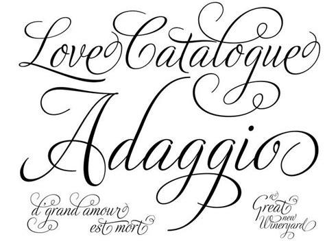 tattoo fonts print best script font tattoos script