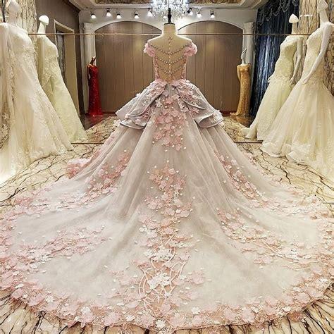 Acsesoris Pengantin L075 vintage floral lace flower wedding dresses gowns 2017