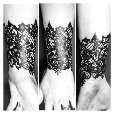 tymeless tattoo black lace by automne burns inkspressions by