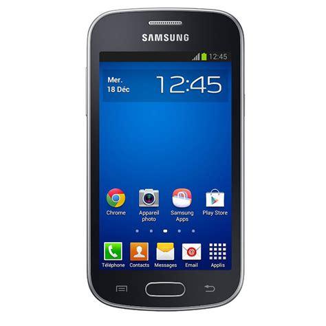 smartphone galaxy trend lite samsung galaxy trend lite gt s7390 noir mobile