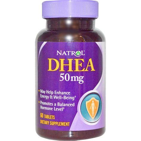 Suplemen Dhea natrol dhea 50 mg 60 tablets iherb