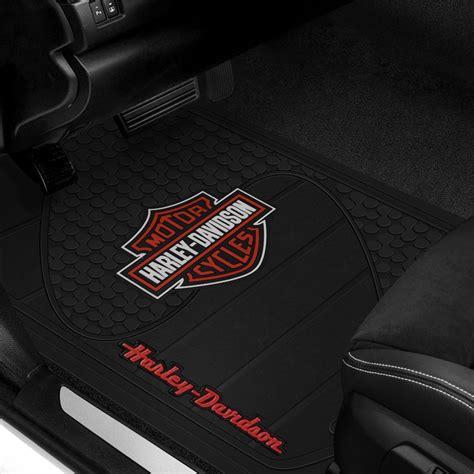 plasticolor floor mats  harley davidson logo