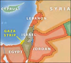 middle east map gaza in depth q a on israel s pullout from gaza npr