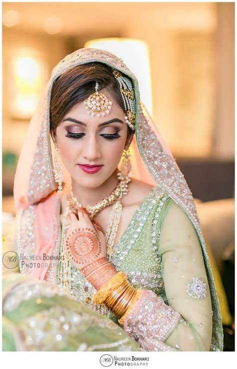 colour combination is so pretty pakistani walima