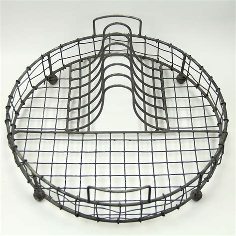 Wire Plate Rack by Vintage Wire Dish Rack Ebay