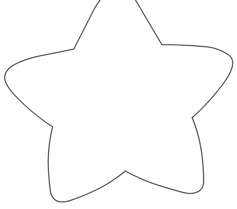 coloring page of a large star star template large kids coloring europe travel guides com