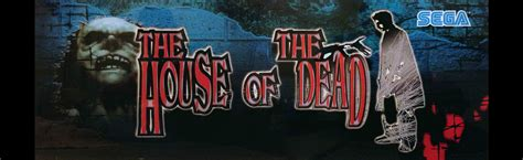 house of the dead the house of the dead arcade marquee 26 x 8
