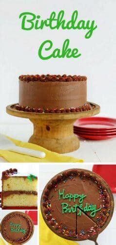 perfect birthday cake   baker