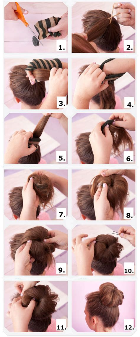 different ways to use donut bun how to do a hair bun her beauty