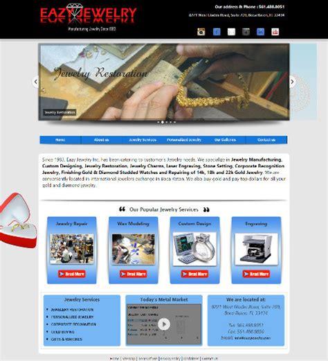 web layout jewellery eazy jewelry vcomsysvcomsys