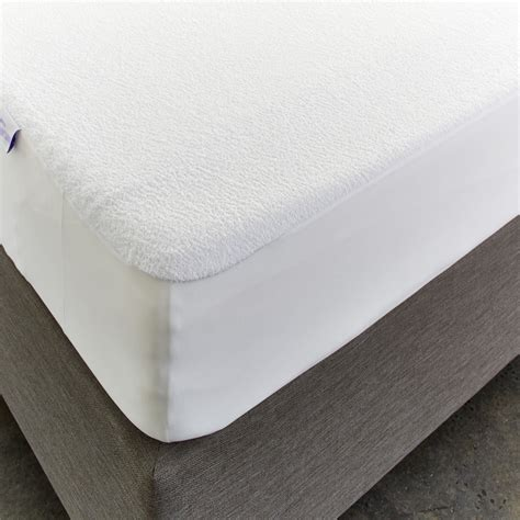 Mattress Protector by Staynew Cotton Terry Fitted Waterproof Mattress Protector