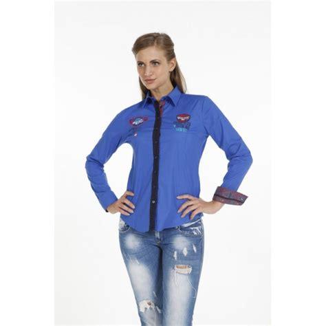 Blouse Blue Line blouse pontto pink line 9006 blue