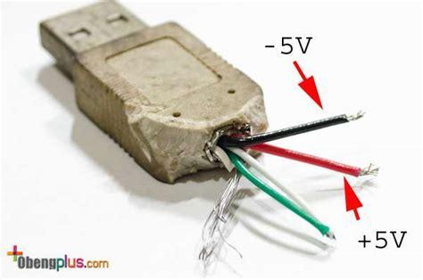 membuat lu led dengan kabel usb menganti lu emergency dengan lu led