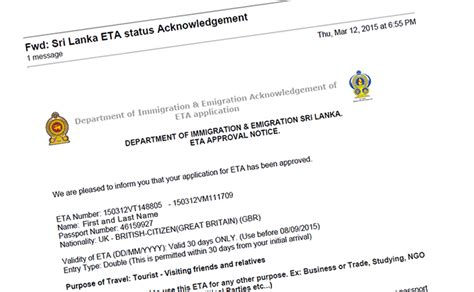 Entry Requirements For Mba In Sri Lanka by Apply For A Sri Lanka Visa From Home