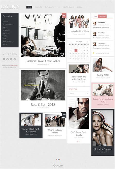 exles of hair websites fashion hair joomla beauty template for fashion news