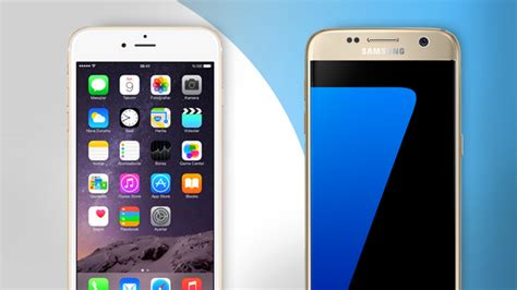 samsung galaxy s7 vs iphone 6s which is the best trusted reviews
