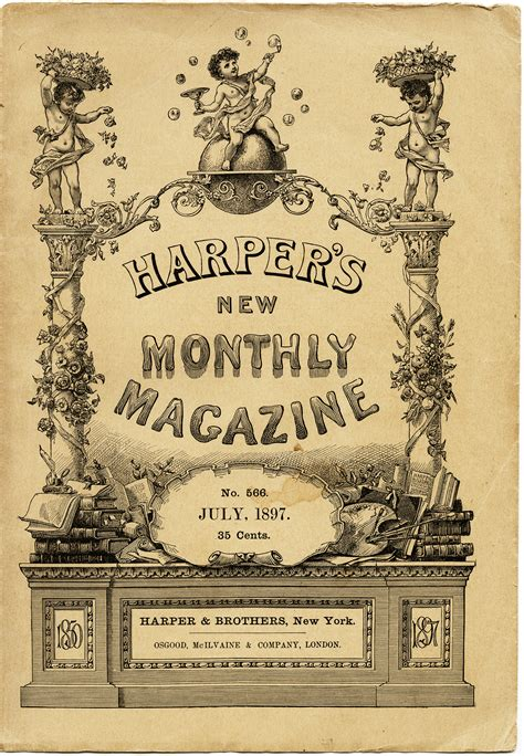 Book News Its Vintage by S New Monthly Magazine Cover Design Shop