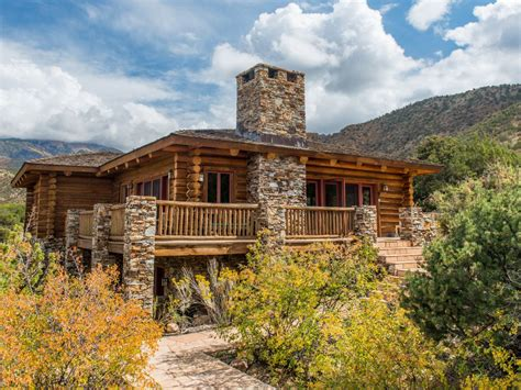 Log Cabin Retreats by Luxurious Log Cabin Retreat Near Moab Homeaway Moab