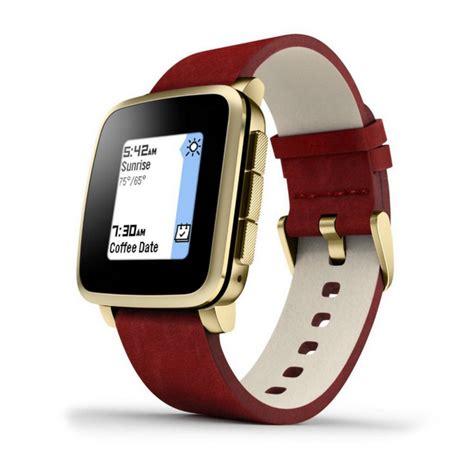 Smartwatch Pebble Time pebble time steel smartwatch dorado