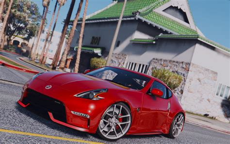 nissan 370z nismo modded nissan 370z nismo z34 2016 v1 0 for gta 5 187 download game