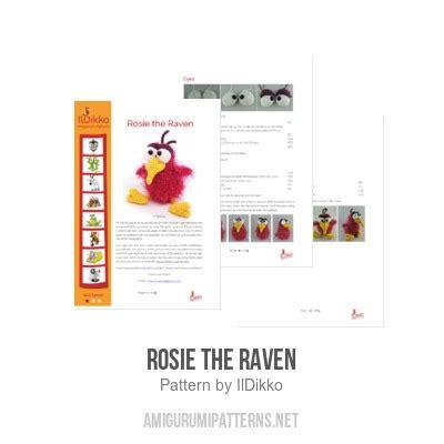 rosie pattern language rosie the raven amigurumi pattern amigurumipatterns net