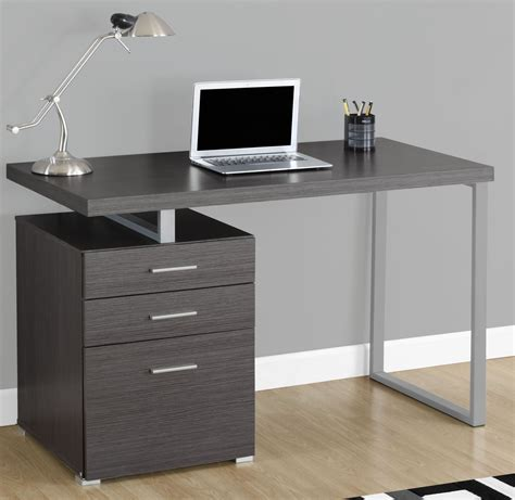 Computer Desk 48 Grey 48 Quot Computer Desk 7426 Monarch