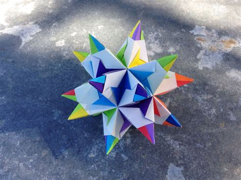 Origami Bascetta - origami bascetta paolo bascetta folded by montana