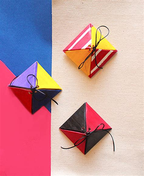 Paper Box Crafts - how to make paper craft boxes ideas the craftables