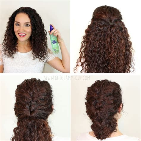 Hairstyles For With Curly Hair by 7 Easy Hairstyles For Curly Hair Weekly Change Ups With