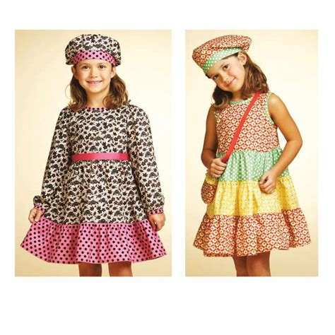 pattern for net dress kwik sew girls patterns discount designer fabric