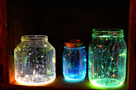 diy glow jars diy glow in the jars foxy and fabulous