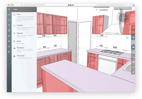 online 3d kitchen design 3d kitchen planner design a kitchen online easily for free