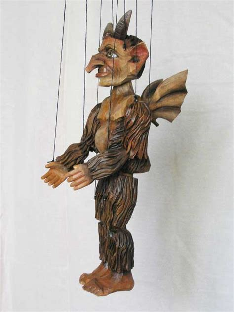 Handmade Marionette - buy wood marionette puppet size 16 quot code