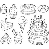 candy and sweets 187 coloring pages 187 surfnetkids