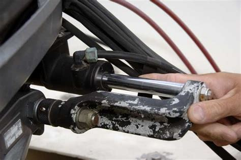 boat hydraulic steering fill caring for your hydraulic steering boatus magazine