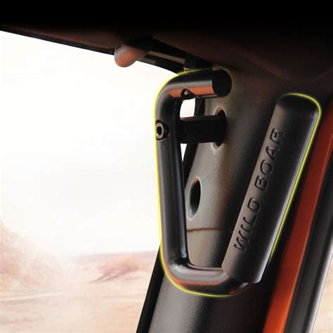 Grip Bar Sepeda 2roll grabars grab bars for jeep jk wrangler unlimited black handle roll bar handles ebay