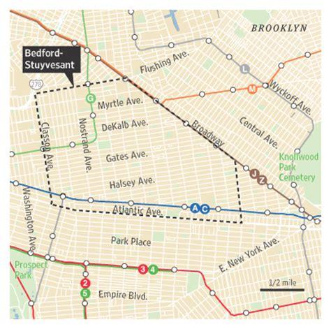 bed stuy map still buyer s market in bedford stuyvesant brooklyn wsj