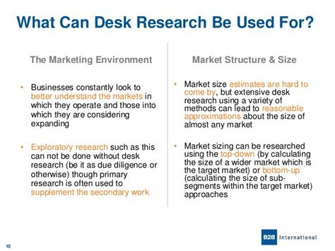 Desk Reseach by An Introduction To Desk Research