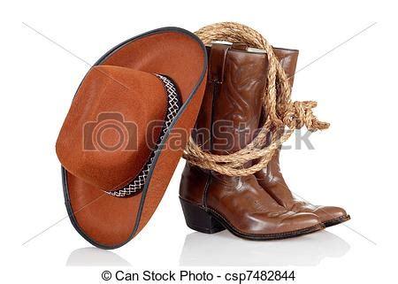imagenes de botas vaqueras en caricatura stock de fotos de vaquero sombrero botas lazo vaquero