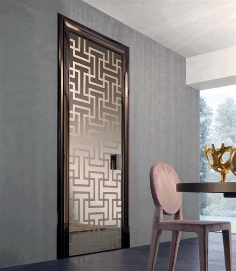 Styles Of Interior Doors Modern Glass Interior Door