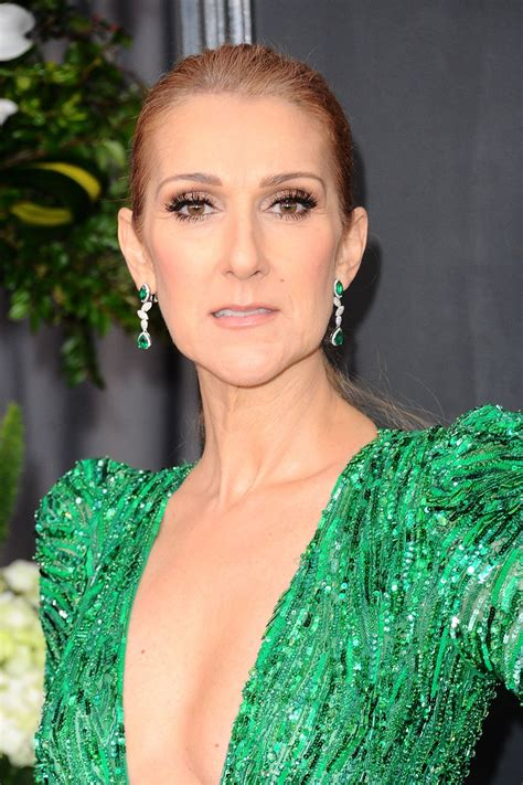 selin dion celine dion at 59th annual grammy awards in los angeles 02