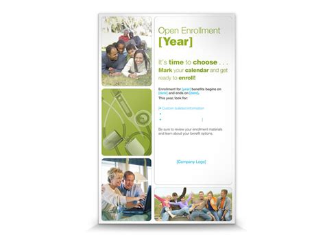 Open Enrollment Toolkit Style 1 Trion Communications Open Enrollment Template