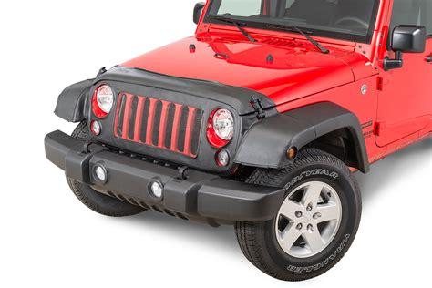Jeep Bra Covercraft 551113 01 Le Bra Premium Nose Bra In Black For