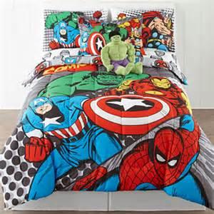 marvel comics reversible comforter