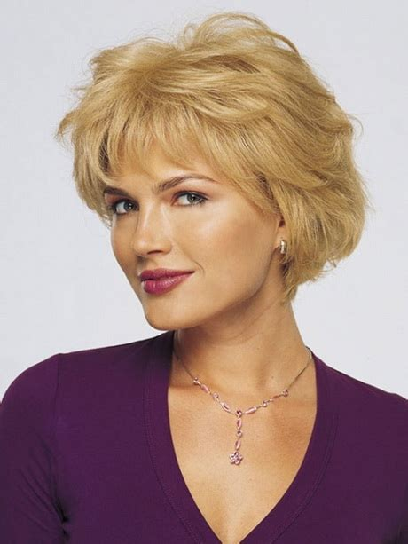 Short hair styles for senior women   Hair Style and Color