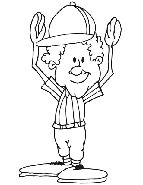 football referee coloring page football coloring picture referee field goal or touchdown