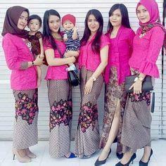 nagita tunik en model kebaya rok batik blouse broklat kebaya artis nagita