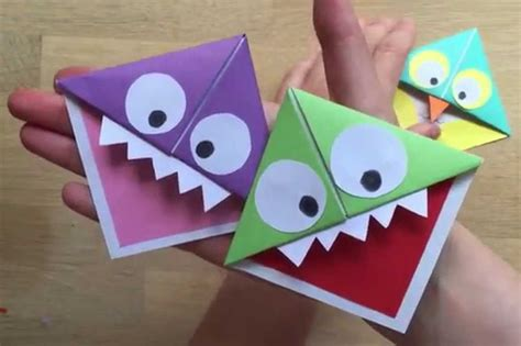 Kid Paper Crafts - simple paper craft for find craft ideas