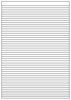 papier 224 lettre lign 233 trouver modele ligne pour ecrire
