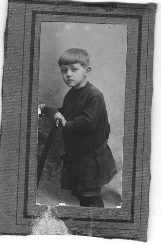 tenue d'écolier : autrefois